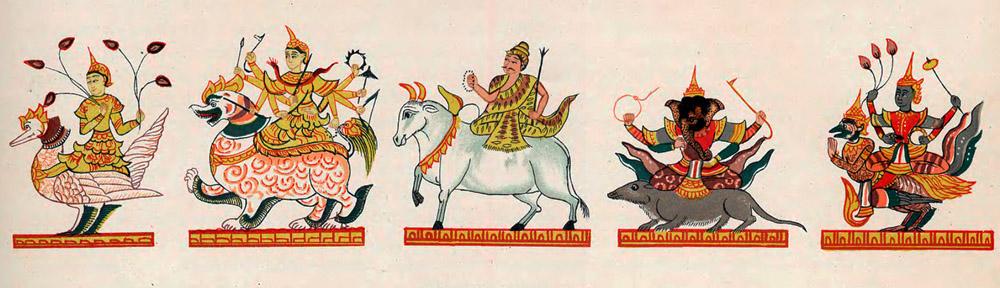 Indische Götter